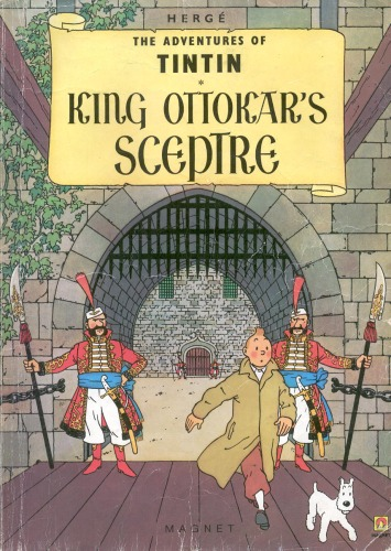 دانلود کتاب King Ottokar's Sceptre (The Adventures of Tintin 8) از ستاتیرا