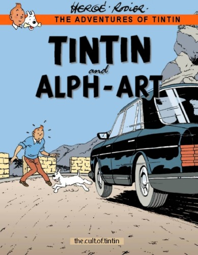 دانلود کتاب Tintin and Alph-Art (The Adventures of Tintin 24) از ستاتیرا