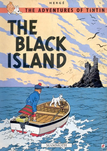 دانلود کتاب The Black Island (The Adventures of Tintin 7) از ستاتیرا
