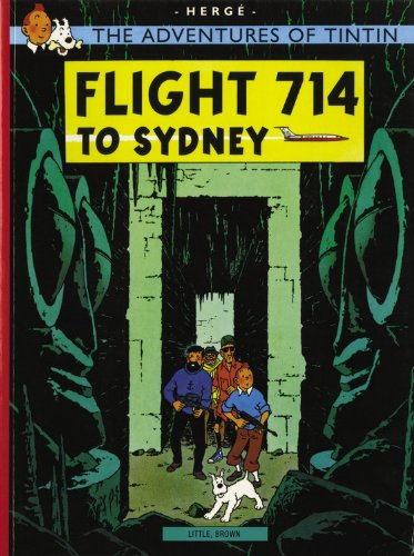 دانلود کتاب Flight 714 (The Adventures of Tintin 22) [9th ed.] 9780316358378