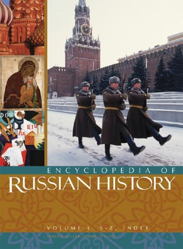 دانلود کتاب Encyclopedia of Russian History [Vol.4] 9780028656939