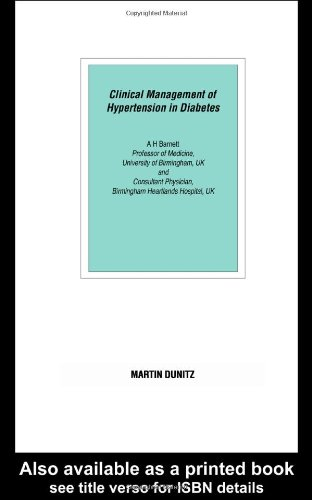 دانلود کتاب Clinical Management of Hypertension in Diabetes: Pocketbook [1 ed.] 9780203420003