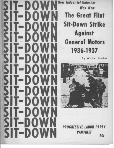 دانلود کتاب The great Flint sit-down strike against General Motors