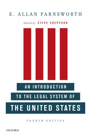 دانلود کتاب An introduction to the legal system of the United States [4 ed.] 0199733104