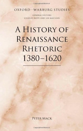 دانلود کتاب A History of Renaissance Rhetoric 1380-1620 0199597286