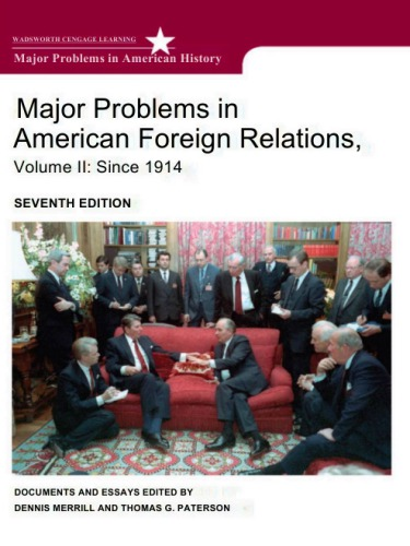 دانلود کتاب 2Major Problems in American Foreign Relations [2