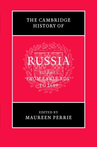 دانلود کتاب The Cambridge History of Russia. From Early Russia to 1689 [Volume 1